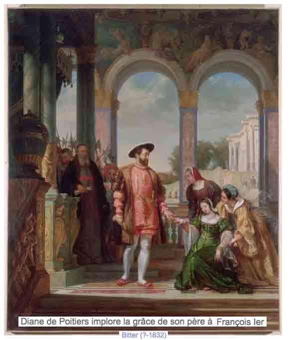 François 1er et Diane de Poitiers