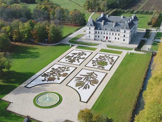chateau d'Ancy les jardins